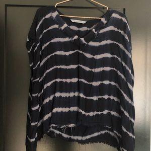Hippie Laundry short sleeve, boho top.